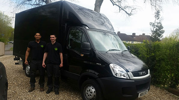 The guys with the removal van