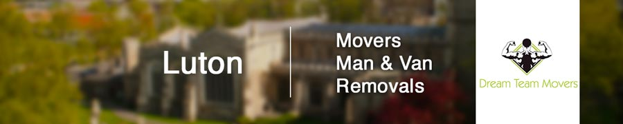 Luton removals, movers, man and van