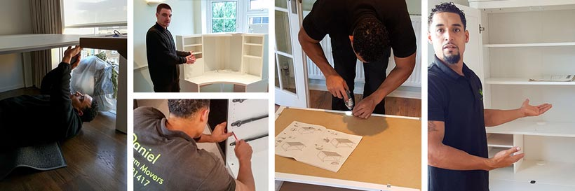 building flat-pack furniture