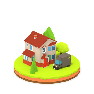 House Removals Icons