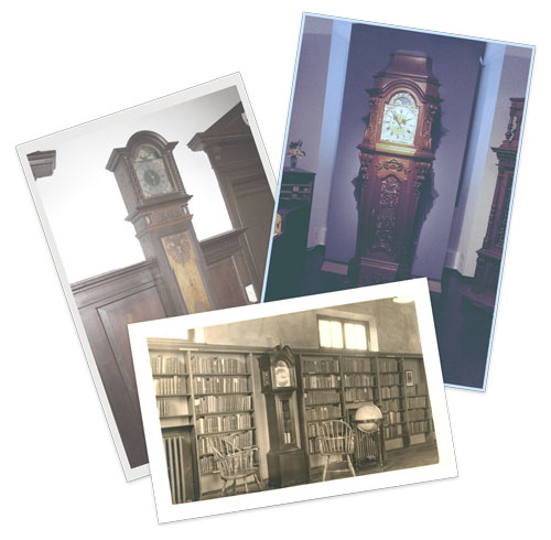 Grandfather and Longcase Clock Removals - Old photos of grandfather clocks