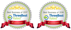 three best rated badge 2017 2018