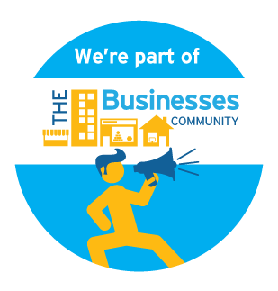 We're Part of The Business Community - Logo