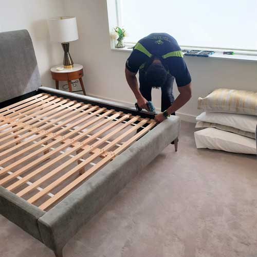 Furniture Assembly - Building a double bed